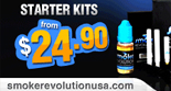 Smoke Revolution E-cig Kits