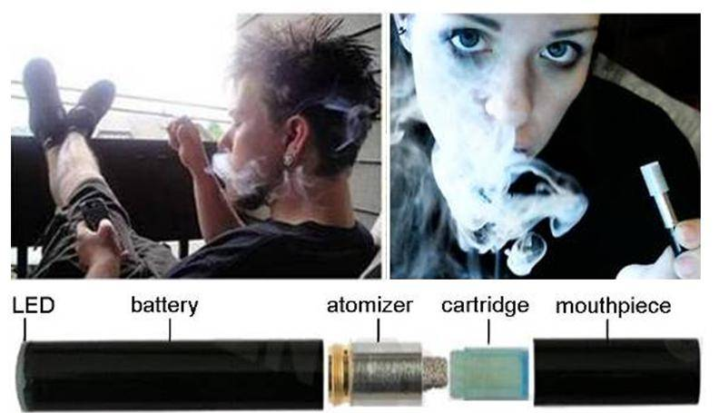 how to use an e cig for the first time