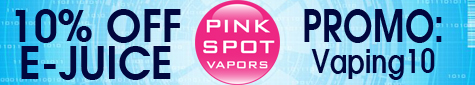 Pink Spot Vapors 10% Off