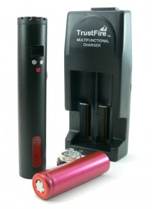 Lavatube electronic cigarette kit