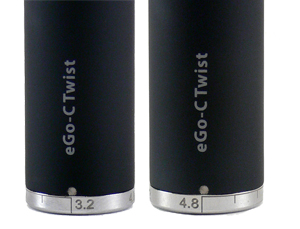 eGo-C Twist Electronic Cigarette Battery