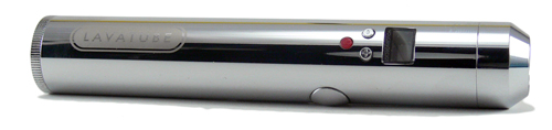Chrome Lavatube Electronic Cigarette