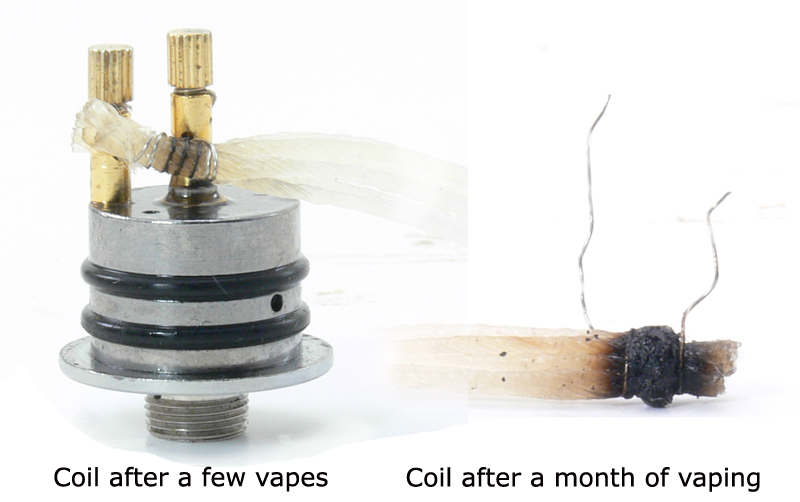 RDA coil before and after