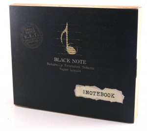 Black Note Notebook